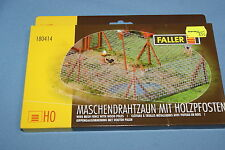 Faller 180414 Wire Mesh fence with wood poles Un-build KIT HO