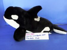 K&M Wild Republic Killer Whale 2009 plush(310-289)