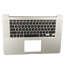 "US New Top Case Palmrest Keyboard For Macbook Pro Retina 15"" A1398 2015"