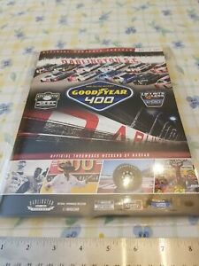 2021 NASCAR Darlington Raceway Throwback Cup Series Goodyear 400 Event Program