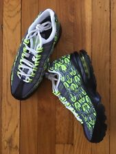 Nike Air Max 95 Se (Gs) Sneakers Size 6.5Y Grey/Volt 922173-004 Nwob