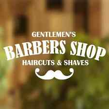 Barber Shop Gentlemens Hair Men Salon Window Vinyl Sign Sticker Lettering