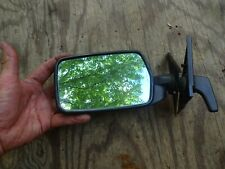 80-85 VOLVO 240 Driver Left Side View Mirror manual Lever  with trim