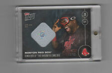 2016 Topps Now Red Sox Clinch David Ortiz Game Used Base Relic Card 44/49