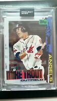 Topps Project 2020 Card 85 2011 Mike Trout by Jacob Rochester In Hand W/ Box