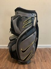 Nike M9 Golf Cart Bag Rare 14-way(Silver/Black/Yello w) Great Condition!