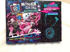 Monster High: Monster Music Box Gift Set Brand New & Sealed
