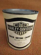 Harley Davidson Motorcycle Original 1950's 1960's NOS Unused1 Quart Paint Can
