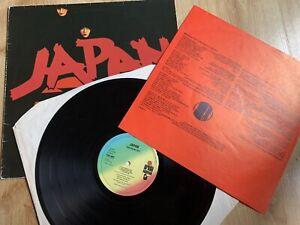Japan - Adolescent Sex - 78 UK 1st Press Ariola Hansa Vinyl LP Insert VGC