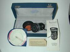 SCHNEIDER KREUZNACH  objectif Lens VARIOGON 1.8/8-48 ciné cinéma 8 mm