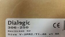Dialogic Eicon Diva V-2PRI/T1-48 v1 - BRAND NEW FACTORY SEALED (306-250)