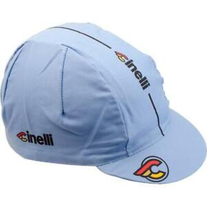 Cinelli Supercorsa Cycling Cap in Lazer Blue - Made in Italy