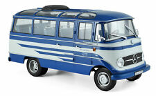 "Norev Mercedes-Benz 0319 BUS "" Sturmvogel voyage "" Modèle 1960 bleu beige , 1:18"