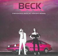 """BECK - UNEVENTFUL DAYS (ST. VINCENT REMIX) 7""""  - RSD 2020 - NEW !!!"""