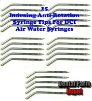 25 DCI Anti-Rotation Indexing Air Water Syringe Tips (DCI #3181 x 5)