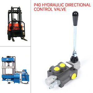 3600PSI 11GPM 1Spool Hydraulic Directional Control Valve Tractor Loader Joystick