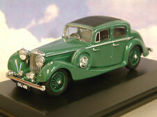 SUPERB OXFORD DIECAST 1/43 SS JAGUAR 2.5 LITRE SALOON IN SUEDE GREEN JSS005