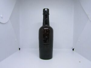 Vintage antique Whitbread brown glass bottle - Beer advertising piece