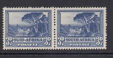 South Africa 1933-48 SG#59, 3d Groot Schuur MNH Pair