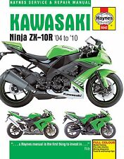 2004-2010 Kawasaki Ninja ZX10 ZX10R HAYNES REPAIR MANUAL