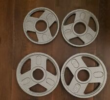 New Weider 4x5lb,4x2.5lb Olympic Weight Plates 2 Inch Change Plate Set