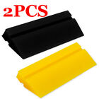 2pcs Window Tint Rubber Yellow Turbo Squeegee - Home Precut Car Vinyl Wrap Tools