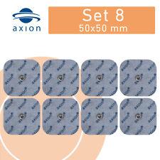 8 TENS EMS Elektroden sanitas vitacontrol bluetens beurer kompatibel Snap- 5x5cm