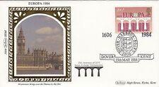 (01876) GB Benham FDC EUROPA Dover Harbour Board 1984