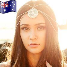 Mandala Head Chain Band Hair Jewellery Bohemia Boho Gypsie Headpiece +Gift Pouch