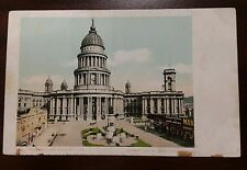 Antique 1901 Postcard City Hall San Francisco, Ca Undivided Back Unposted