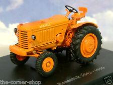 NICE U/H HACHETTE DIECAST 1/43 1950 RENAULT R 3042 R3042 TRACTOR IN ORANGE TR08