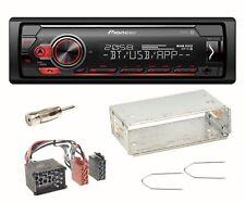 Pioneer MVH-S410BT USB Bluetooth Autoradio AUX Einbauset für BMW 3er E36 Z3