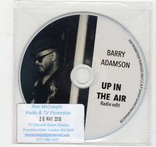 (HV37) Barry Adamson, Up In The Air - 2016 DJ CD