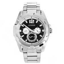 reloj CITIZEN ref. AG8330-51E Hombre chrono negro de acero