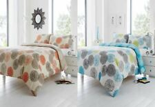 Cotton Blend Geometric Quilt Covers