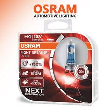 Osram Night Breaker Laser H4 150% More Brightness Halogen Headlamp 12V