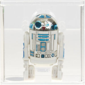 Star Wars 1977 Vintage Kenner R2-D2 (HK) Loose Action Figure AFA 85