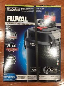 NEW! Fluval 207 Perfomance Canister Filter