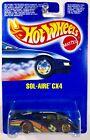 Hot Wheels Sol-Aire CX4, guh Gold Ultra Hot, International Card - RARE