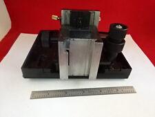 MICROSCOPE PART REICHERT MICROSTAR SPECIMEN TABLE STAGE MICROMETER BIN#L8-A-03