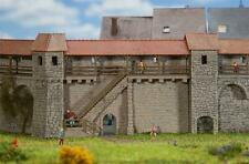 Faller Old Town Wall with Stairs Building Kit I N Gauge 232353
