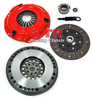 XTR STAGE 2 CLUTCH KIT+RACE FLYWHEEL fits BAJA FORESTER IMPREZA LEGACY 2.5L N/T