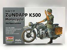 Vulcan 1/35 Zündapp K500 Motorcycle with x1 Figure (56003)
