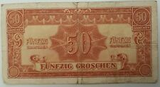 AUSTRIA   50 GROSCHEN 1944   P-104    Allied Military Authority 1944 Issue
