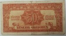AUSTRIA   50 GROSCHEN 1944   P-104    Allied Military Authority 1944 Issue