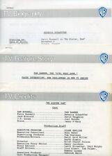REBECCA SCHAEFFER PAM DAWBER MY SISTER SAM ORIGINAL 1986 CBS TV PRESS MATERIAL