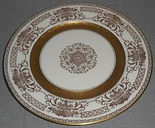 Guilded Gold Inner Rim DE LUXE DECORATING WORKS Czech PORCELAIN PLATE