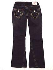 True Religion size 27 x 29 Joey corduroy black Boot cut Low rise Womens jeans