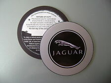 Magnetic Tax disc holder fits any jaguar x-type s-type xj series coupe v8 xf xk