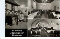 WERNIGERODE HO-Gaststätte Ratskeller DDR AK E. Riehn